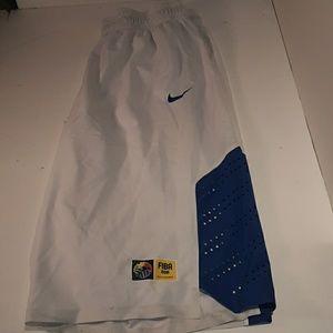 Men's Nike basketball shorts size 42